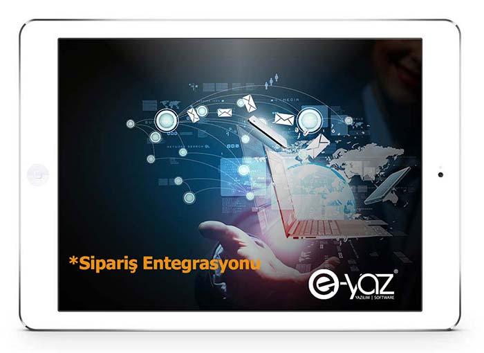 E-Yaz E-Ticaret Sipariş Entegrasyonu