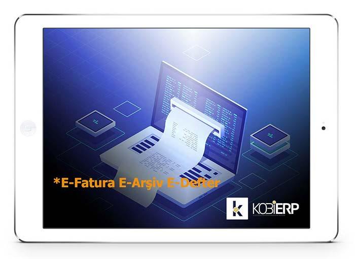 ERP Yazılımı E-Fatura | E-Defter | E-Arşiv