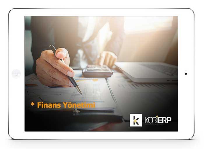 ERP Yazılımı KOBİ ERP Finans yönetimi