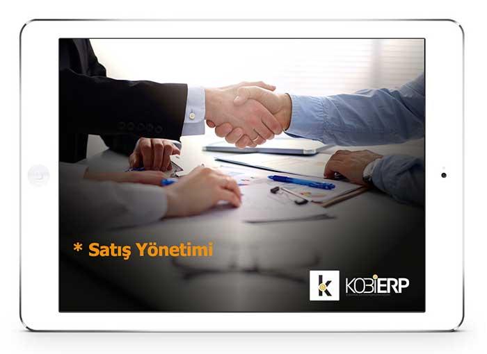ERP Yazılımı Ürünler Kobierp Satış Yönetimi