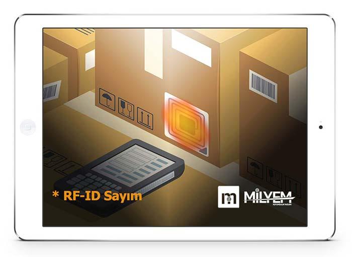 E-yaz Kuyumculuk Yazılımı RF-ID Sayım