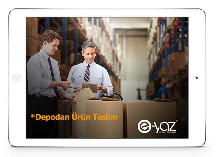 E-Yaz Market Yazılımı Depoda Ürün Teslim Alma