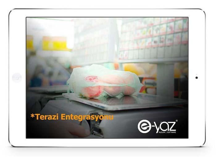 E-Yaz Market Yazılımı Yazar Kasa ve Terazi Entegrasyonu