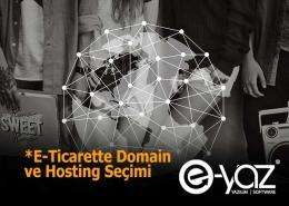 E-Ticarette Sunucu ve Domain Seçimi