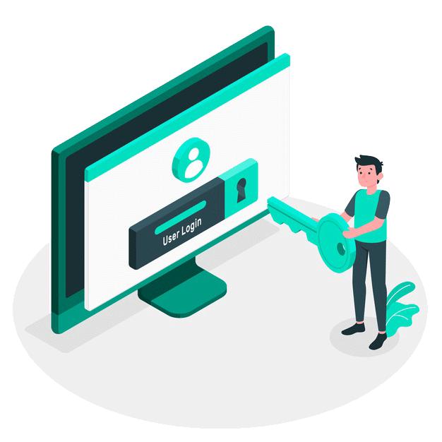 E-Ticarette Güvenlik | Güvenli Giriş Ekranı